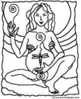 Arvigo shown in pregnant woman image