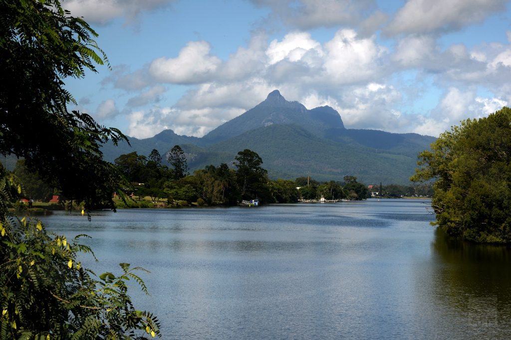 Mt Warning and the Tweed River